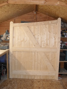 carpentry example - door
